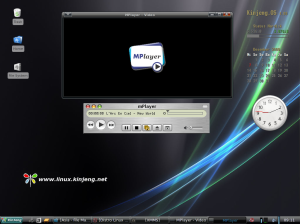 Mplayer di Kinjeng.OS